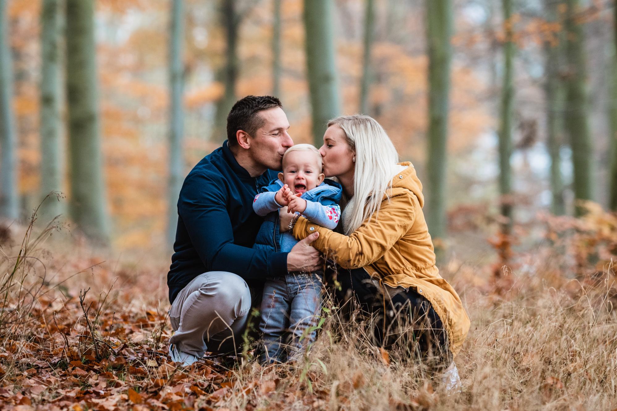 Rodinné focení v lese - Jiří Juráček Fotograf