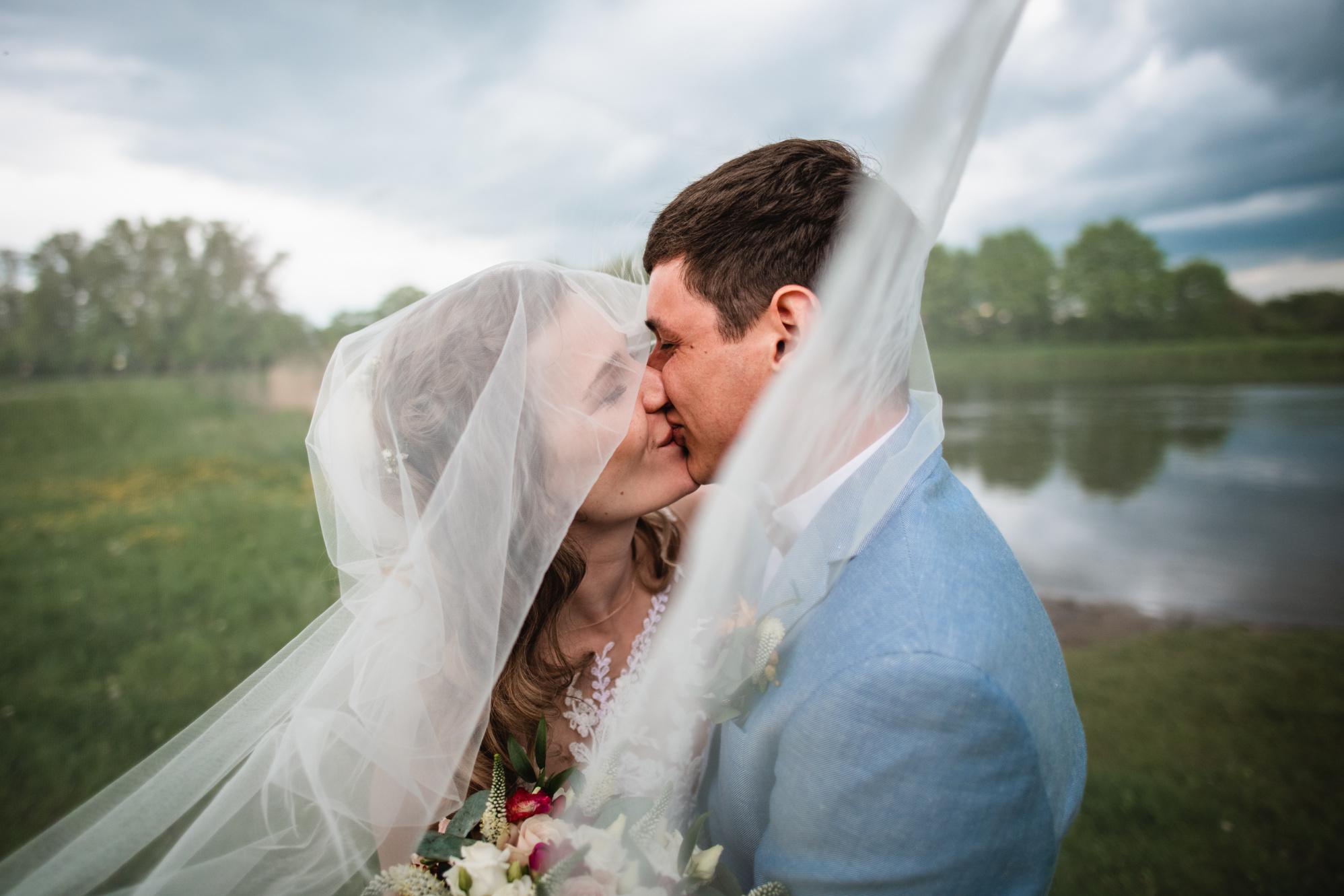 Párové svatební focení v přírodě