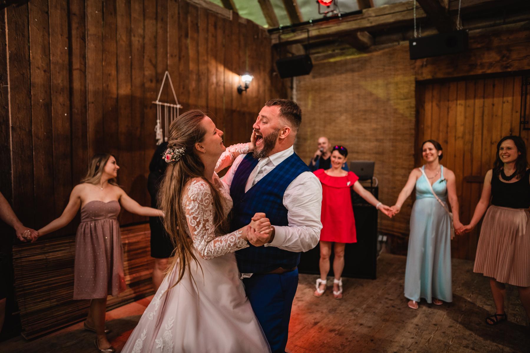 První tanec svatebního páru