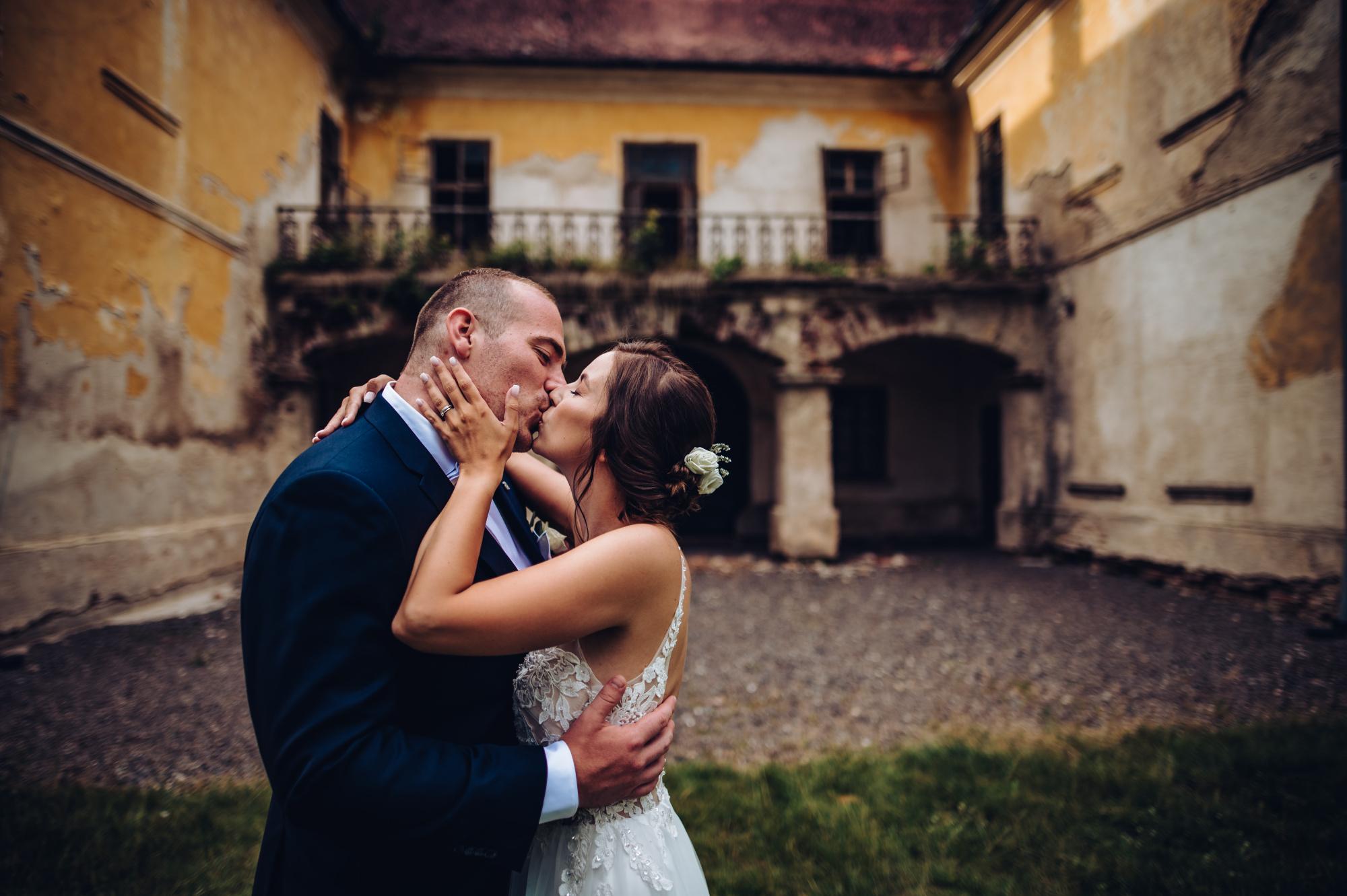 Svatební párová fotografie